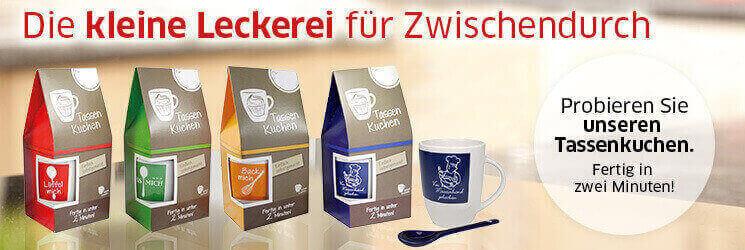 Mit bedruckten Tassen bleibenden Eindruck hinterlassen - Qualitätswerbeartikel im Saalfrank Onlineshop