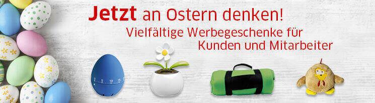 Mit Ihrer Werbeanbringung auf Ostergeschenken freude bereiten - Qualitätswerbeartikel im Saalfrank Onlineshop