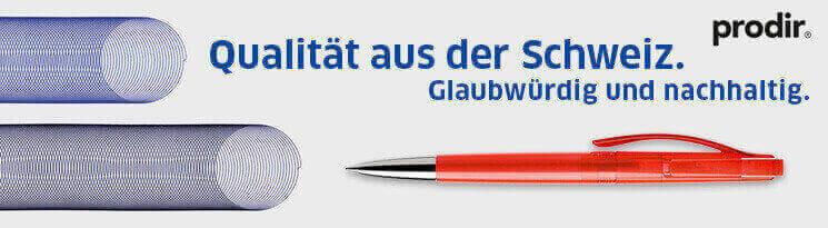 Prodir - Marken & Qualitätswerbeartikel im Saalfrank Onlineshop