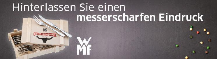WMF - Marken & Qualitätswerbeartikel im Saalfrank Onlineshop