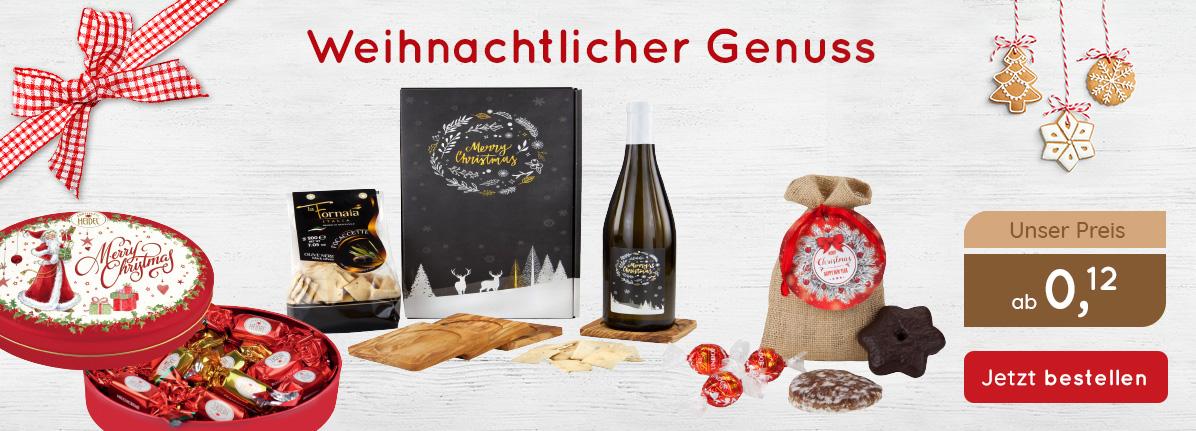 Weihnachtlicher Genuss - Saalfrank Qualitäts-Werbeartikel