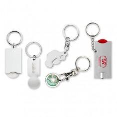 Schlüsselanhänger mit Einkaufswagenschip