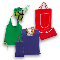 Faltbare Einkaufstaschen