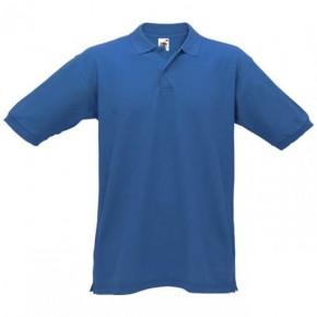 Original Fruit of the Loom® Polo-PiquE-Shirt Royalblau   XL d051687213
