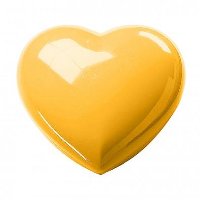 Deko-Dose Maxi-Herz, standard-gelb