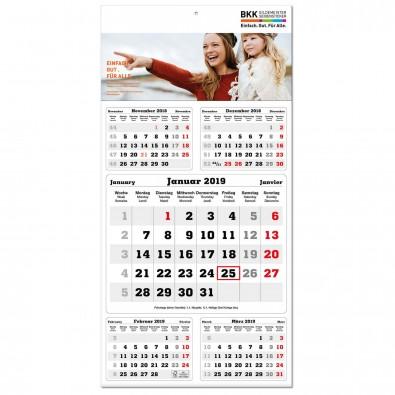 5-Monats-Wandkalender Post 2019