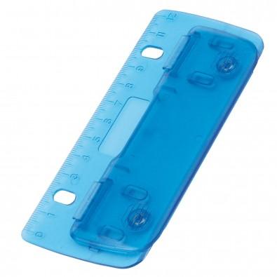 Kunststoff-Locher, Blau/Gefrostet