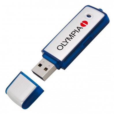 USB-Stick Save, Blau, 4 GB