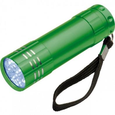 Aluminium-LED-Lampe Grün