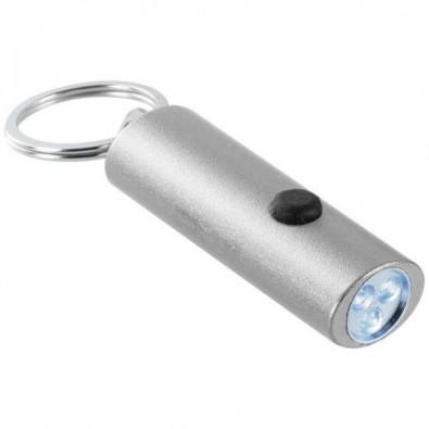3er LED-Taschenlampe, Silber/Metallic