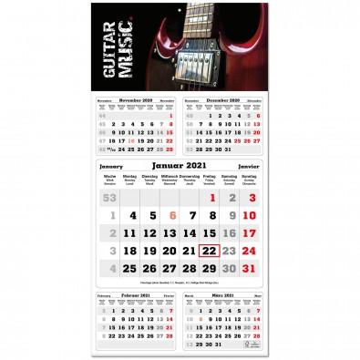 5-Monats-Wandkalender Post 2020