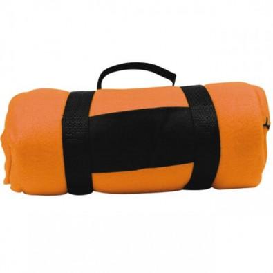 Picknick-Fleecedecke Orange
