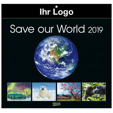 Bildkalender Save our World 2019