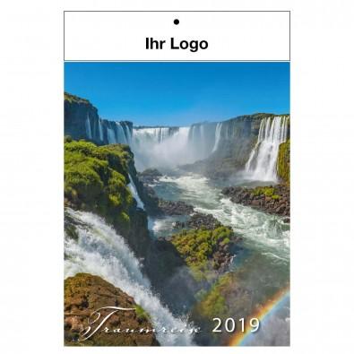 Bildwandkalender Traumreise 2019