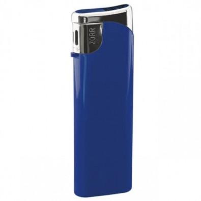 Piezo-Gasfeuerzeug Slim, Blau