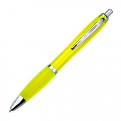 Kugelschreiber Rio, Gelb/Transparent