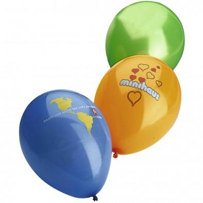 Luftballons, Bunt