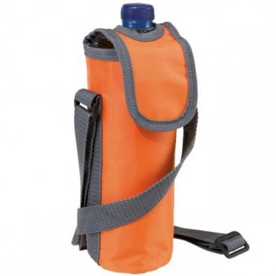 Umhänge-Flaschenkühltasche Orange