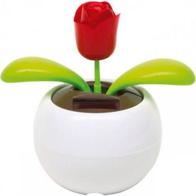 Solar - Wackelfigur Rose