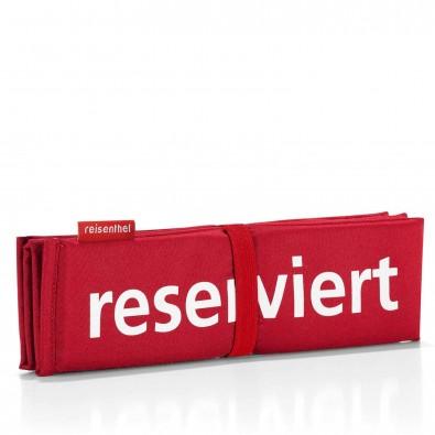 Original Reisenthel® Seatpad reserviert - Sitzkissen, Red