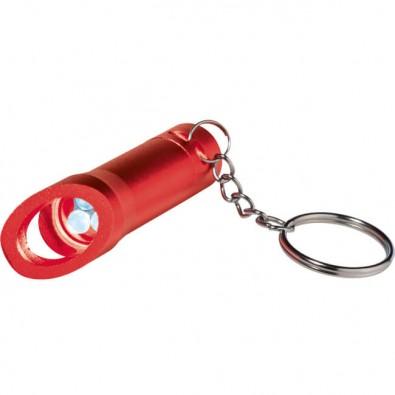Taschenlampe mit Flaschenöffner, Rot