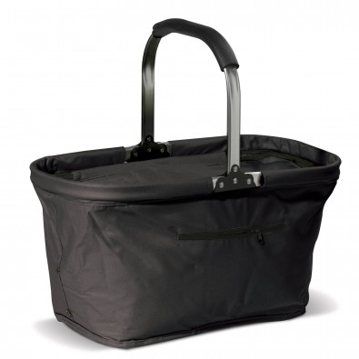Einkaufskorb mit Kühlfunktion, Schwarz