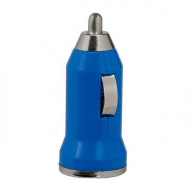USB CarCharger Ladestecker Blau