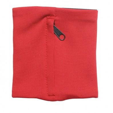 Handgelenk-Geldbörse Rot