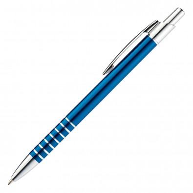 Metall-Kugelschreiber Warschau, Blau