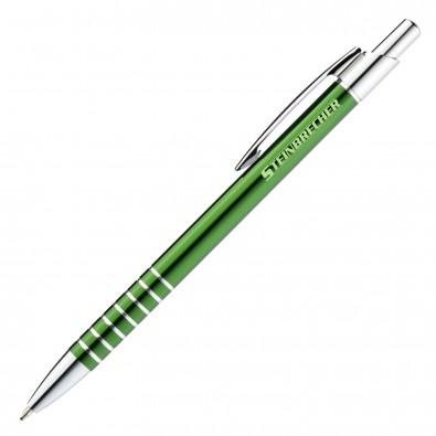 Metall-Kugelschreiber Warschau, Grün