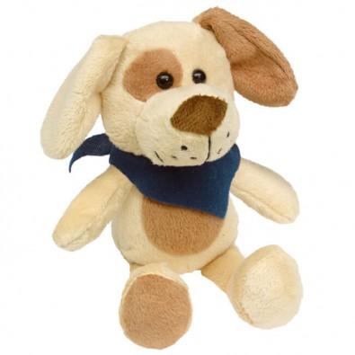 Plüsch-Tiere Fluffy Hund Halstuch Blau, Hund, Halstuch blau