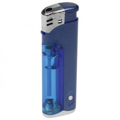 Werbe-Set: 250 Metallic-LED-Feuerzeuge, Blau