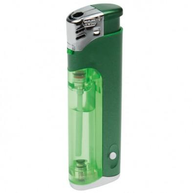 Piezo-LED-Feuerzeug Light  Fire, Grün