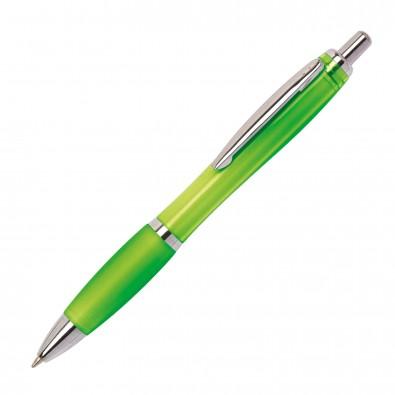 Kugelschreiber Rio, Apfelgrün/Transparent