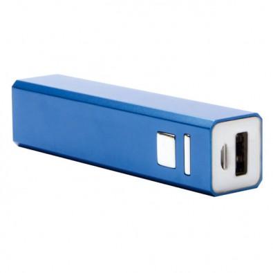 Metall-Ladegerät Powerbank, Blau