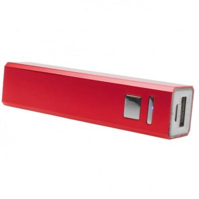 Metall-Ladegerät Powerbank, rot