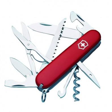 Original Victorinox Taschenmesser, Huntsman 15 Funktionen Rot