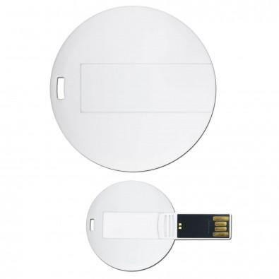 USB-Stick Round Card, 16 GB