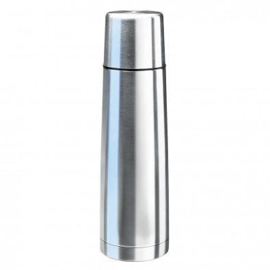 Original Isosteel® Isolierflasche Slimline Silber | 0,75 l