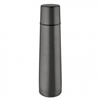 Original Isosteel® Isolierflasche Slimline Titan-Grau