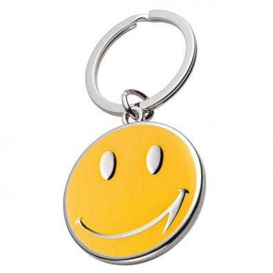 Schlüsselanhänger Smile, Gelb