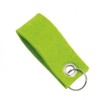 Filz-Schlüsselanhänger Grün