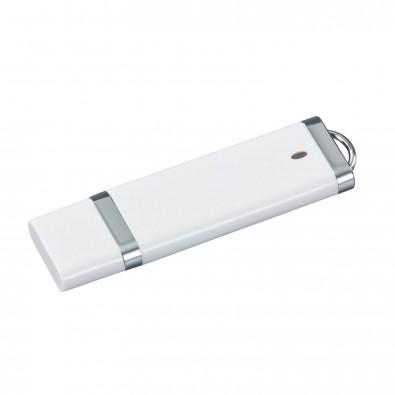 USB-Stick Budget, Weiß, 4 GB