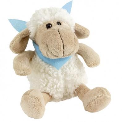 Plüsch-Tiere Fluffy Schaf Halstuch hellblau, Schaf, Halstuch hellblau