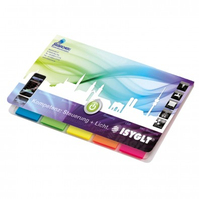 Memo-Card Quality Filmmarker Bestseller, inkl. Digitaldruck