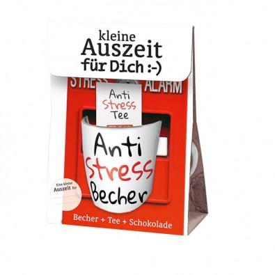 Geschenkset Kleine Auszeit für dich: Anti-Stress-Becher