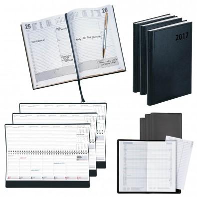 Kalender-Spar-Set 101-teilig schwarz