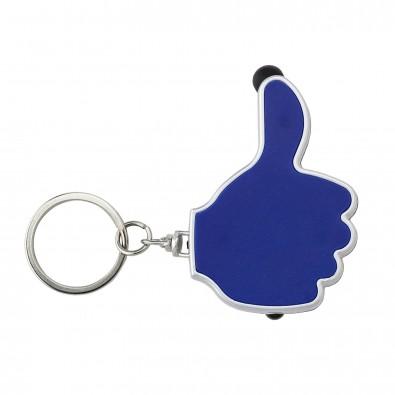 Schlüsselanhänger Like, Blau
