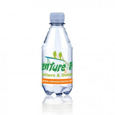 Natürliches Mineralwasser mit Kohlensäure 0,33L