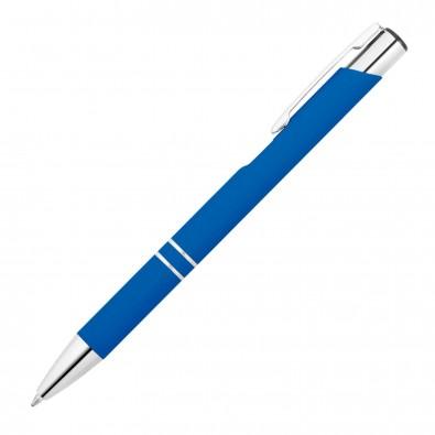Softtouch Kugelschreiber Santa Cruz Blau
